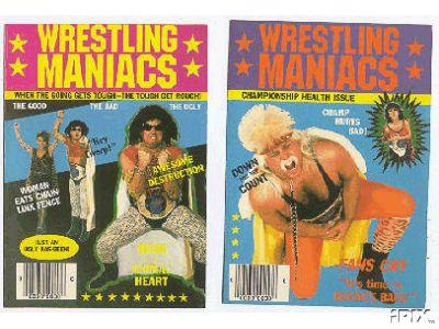 wrestling cards vintage wrestling card archive, Birthday card